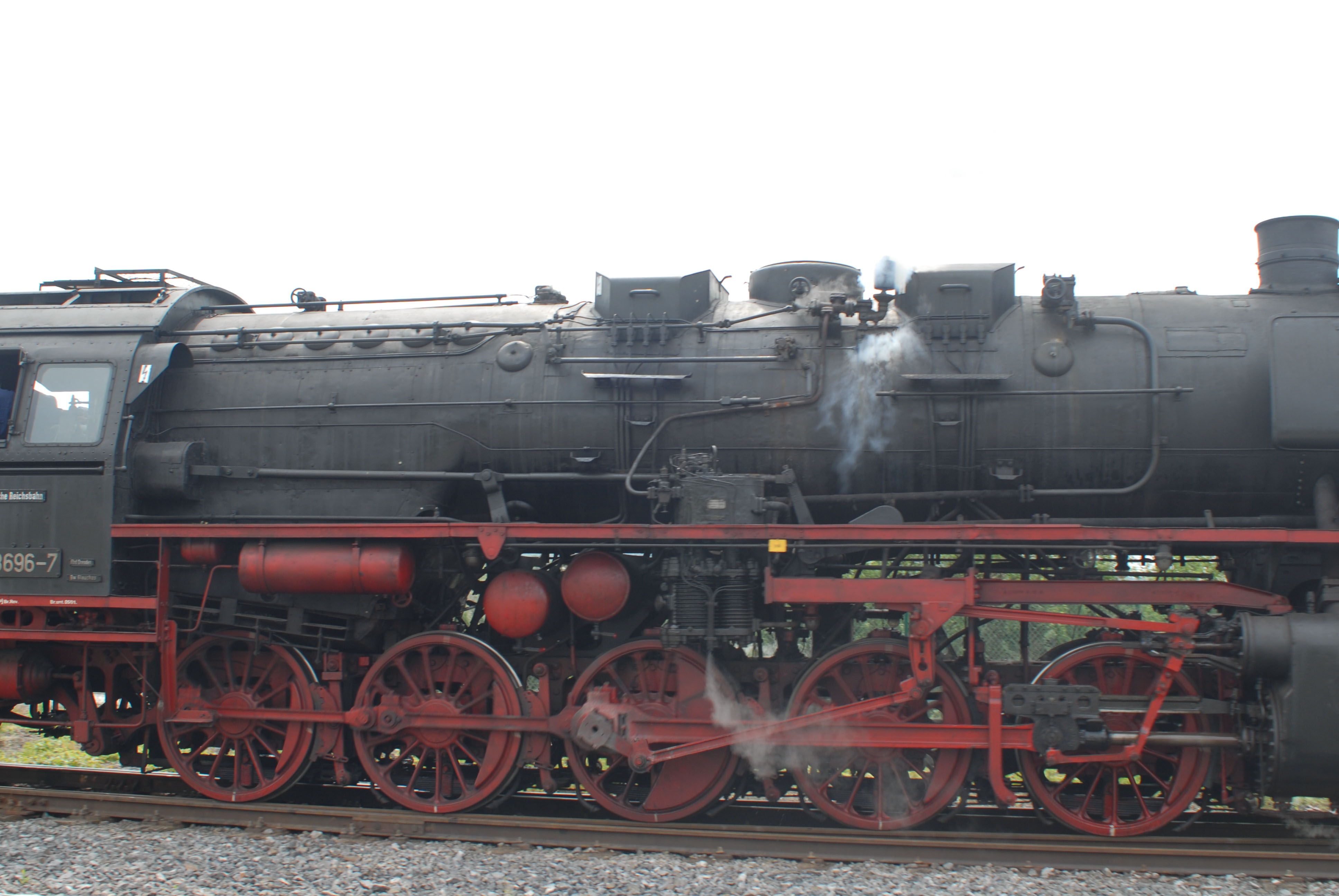 Br 50 3696, rebuilt by DR